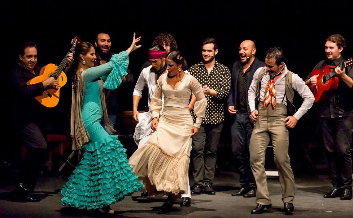 El musical Las Minas Puerto Flamenco en el Teatro Olympia de Valencia,8 junio