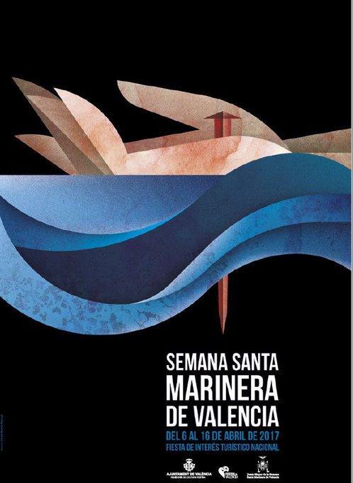 cartel semana santa marinera 2017 valencia