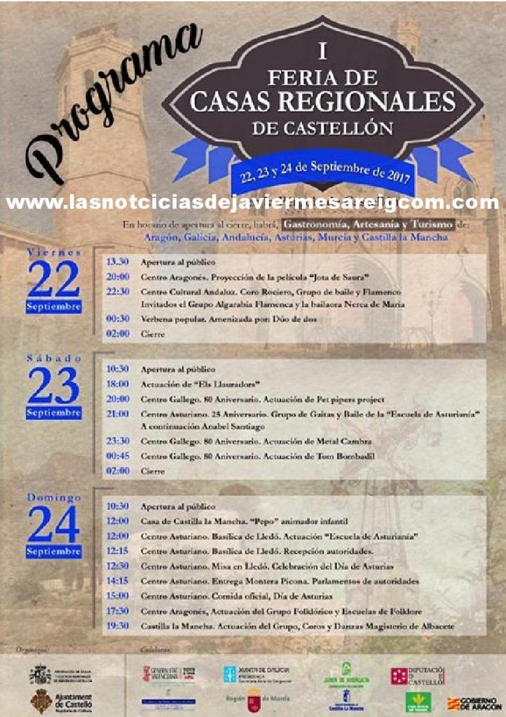 I feria de casas regionales de España castellon1