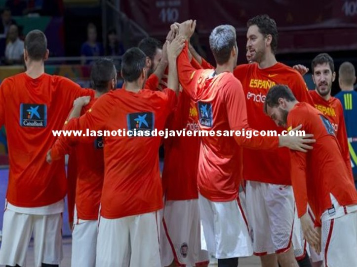 seleccion española basket