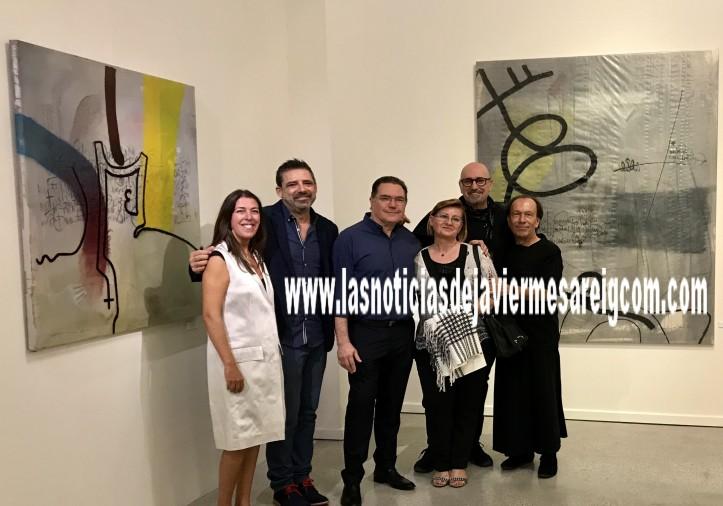 Trini García, Miguel Piqueras, Miguel Castillo, Fátima Luque, Josep Lozano y Claudio Zirotti