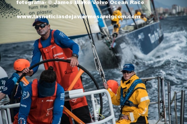 Leg 01, Alicante to Lisbon, day xx,  on board Vestas 11th Hour Racing. Photo by James Blake/Volvo Ocean Race. 22 October, 2017