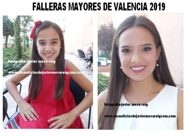 FALLERAS MAYORES DE VALENCIA 2019